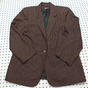 Sag Harbor Wool Blend Blazer, Size 14